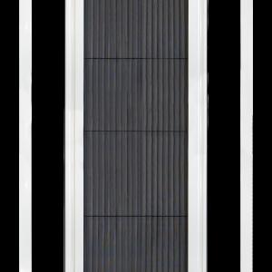 Zanzariera con apertura e chiusura sincronizzata, brevettata da Effezeta System