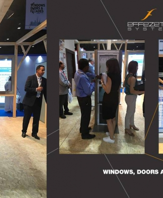 "Effezeta alla ""Windows, Doors and Facades"" a Dubai"